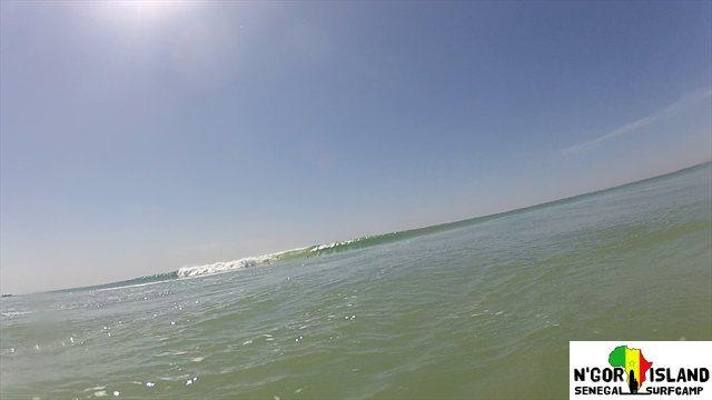Epic surf in Senegal 2013