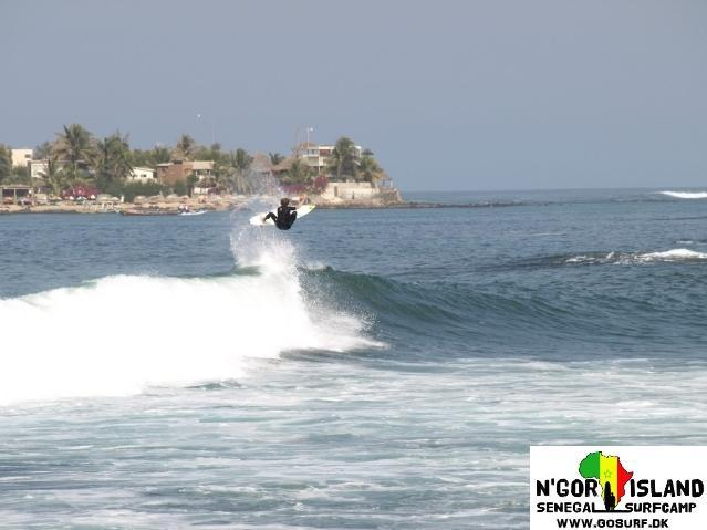 Senegal Surf spot Baies des Carpes